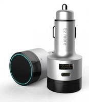 Автомобильное зарядное устройство Xiaoomi Ez More Intelligent Gesture Control Bluetooth Car Fast Charge Silver Ti10